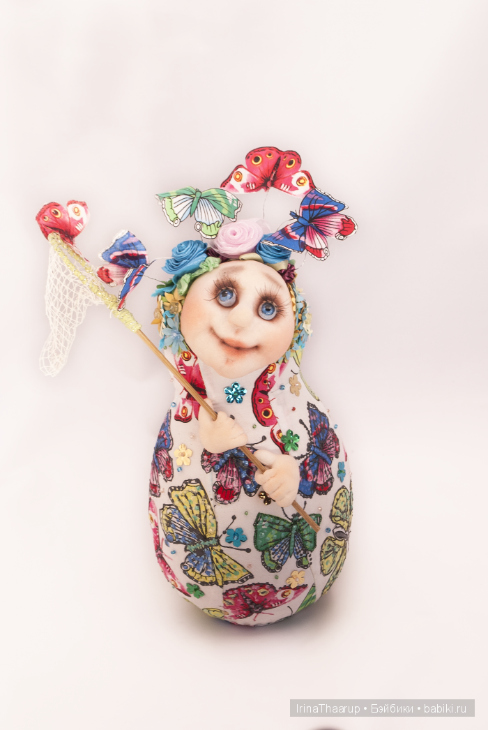 Матрешка- текстильная кукла