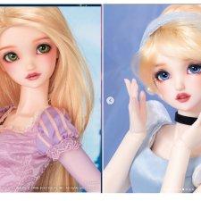 Рапунцель и Золушка — БЖД куклы