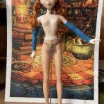 Капроновые колготки для куклы от 42 см