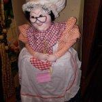 Кукла, грелка на самовар. СССР Чайница. Бабушка.