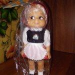 Куколка немецкая. Кукла ГДР Красная шапочка.