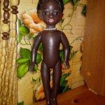Кукла СССР негр