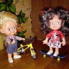 Велосипед, скейт для малышей
