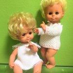 Две винтажные малышки из ГДР