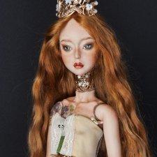 Уникальная фарфоровая шарнирная кукла bjd Деметра
