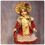 Наряд для антикварной куклы с доставкой