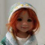 Головные уборы, одежда и обувь для любимых кукол  32-36 см из натуральной итальянской шести