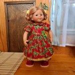 Платье для Вихтеля 32 см