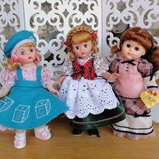 Подружки 20 см. Madam Alexander, Vogue doll, Susan Wakeen