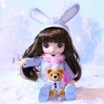 Нюд 6500 Pop Mart Viya Doll travel. Зимняя