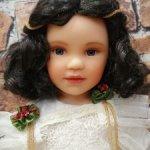 Кукла Натали, материал резин