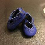 Фирменные туфельки Boneka из натуральной кожи для маленьких куколок