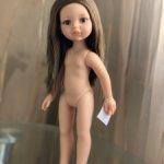 Кэрол с карими глазами и прямыми волосами на теле 2015-2017 гг, европейский выпуск Paola Reina