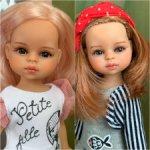 ООАК  21 см мини куколка Paola Reina