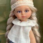 ООАК мини куколка Paola Reina