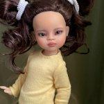 ООАК мини куколки Миа Paola Reina на шарнирном теле