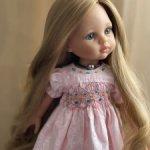 Платье с буфами на Paola Reina и других подобных кукол