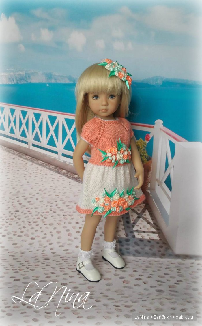Наряд от La Nina на куколке Дианны Эффнер
