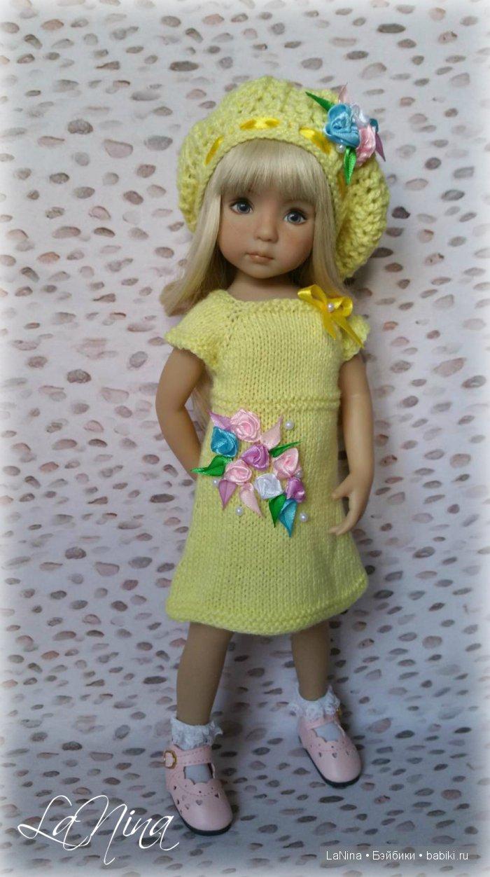 Платье на куколке Дианны Эффнер