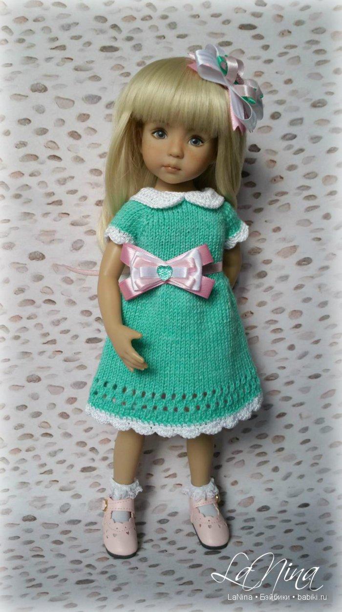 Платье для куклы Дианны Эффнер