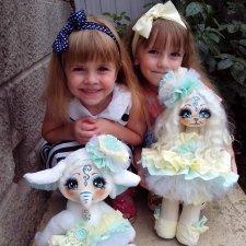 Счастье поселилось в нашем доме - мои дочери и игрушки ручной работы
