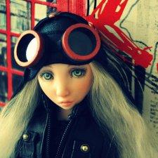 Авторская шарнирная кукла Валентины Игнатьевой