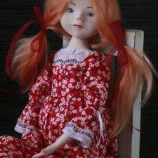 Знакомьтесь, моя новая куколка ручной работы Лиза