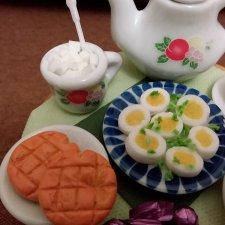 Яйца к завтраку для 1:6 - простой способ приготовления
