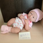 Снижение цены! продам куколку Berenguer, JC Toys, ELC