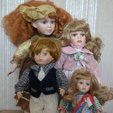 Пожалуйста, помогите оценить стоимость фарфоровых кукол