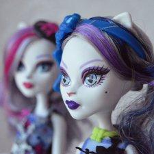 Продам Monster High Catrine DeMew Gloom & Bloom (Катрин ДеМяу Мрак и Цветение)