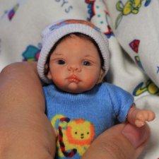 OOAK кукла ручной работы Андрюшка от Olga KS