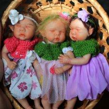 Малышки Эльфики. Авторские куклы OOAK от Oльги Кохановской