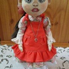 Моя текстильная кукла. Автор Наталья Мусиенко