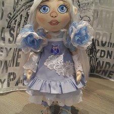 Голубоглазка. Авторская текстильная кукла