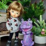 Кроха Нави tvinkls мёд Meadow dolls