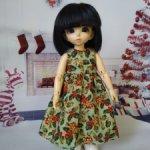 Новогоднее платье для литлфи