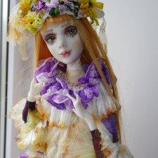 Куколка ручной работы Аида Людмилы Непомнящей