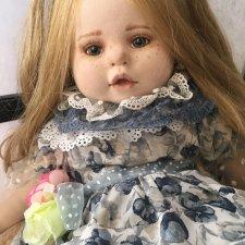 Текстильная куколка.Скидка!Новая цена 7500!
