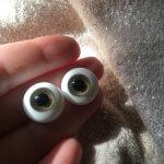 Глаза стеклянные