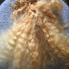 Лот: волосы овечки,три цвета