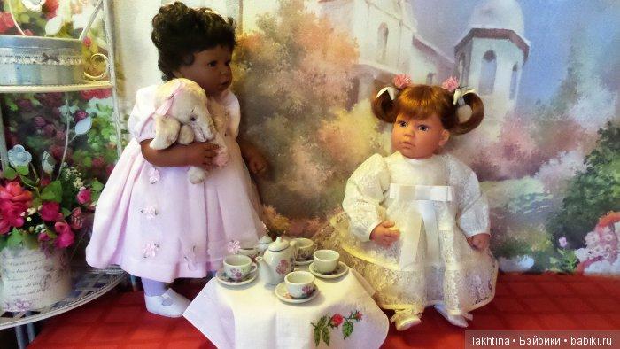 """кукла Ли Миддлетон """"Маленькая мама""""и """"Играющая в маму"""""""