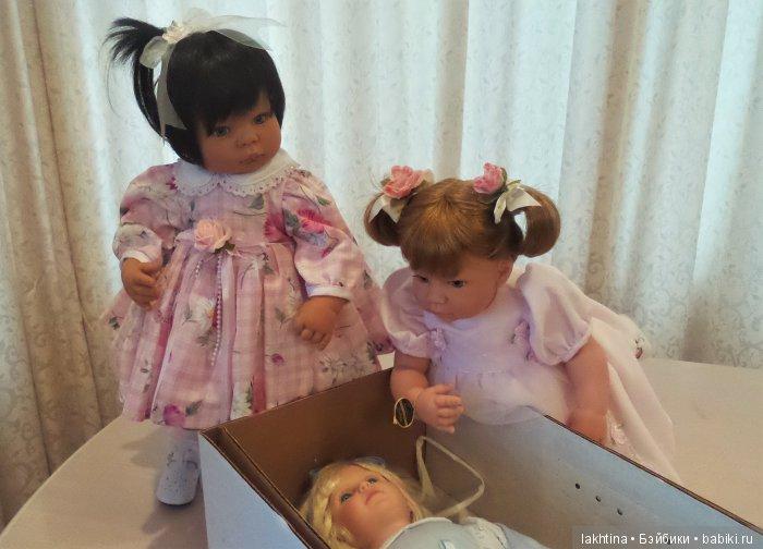 "кукла Ли Миддлетон ""Sweet and Innocent"" , ""Маленькая мама"" и Мишель"
