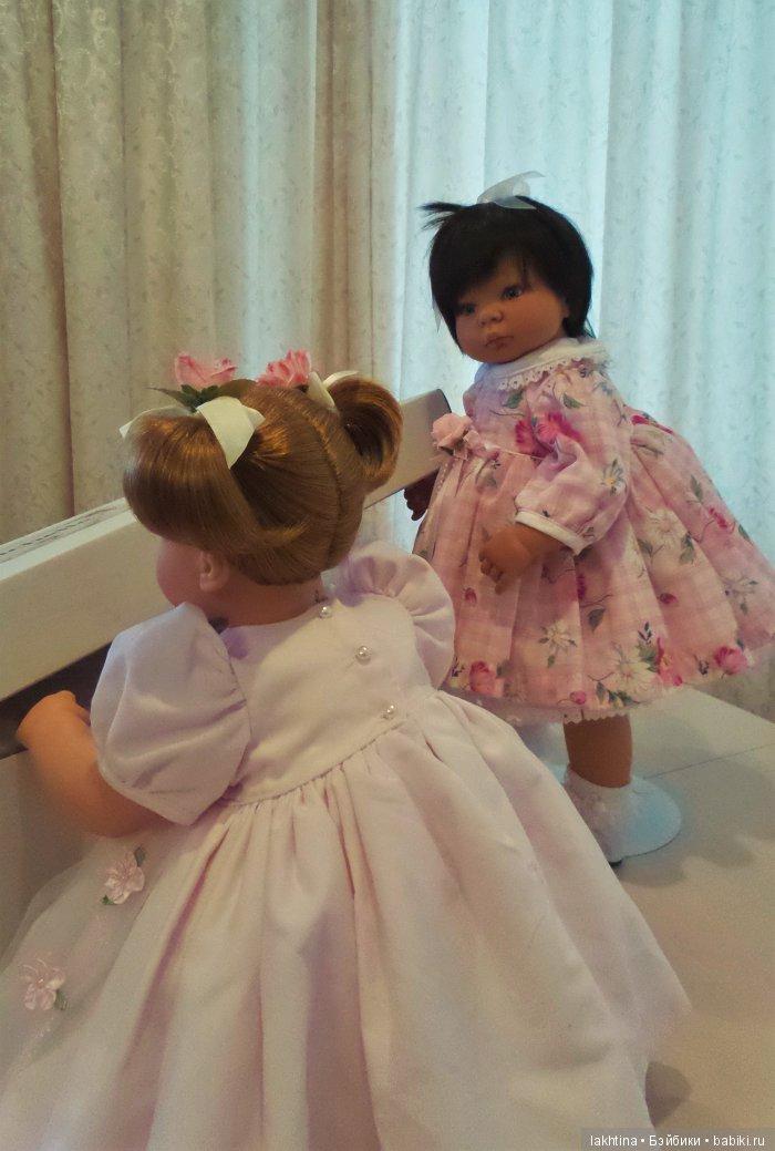 """кукла Ли Миддлетон """"Sweet and Innocent"""" и """"Маленькая мама"""" поднимают крышку"""