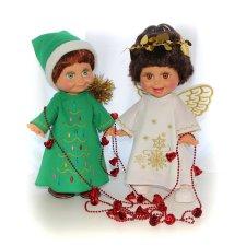 Куклы Galoob Baby Face поздравляют с рождеством