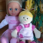 Лот кукол Bayer и сплюшка