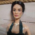Виктория Бэкхем,портретная кукла барби
