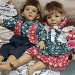 Пара характерных куколок