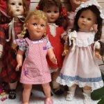 Лот антикварных кукол 2