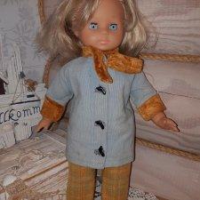 Винтажная немецкая кукла
